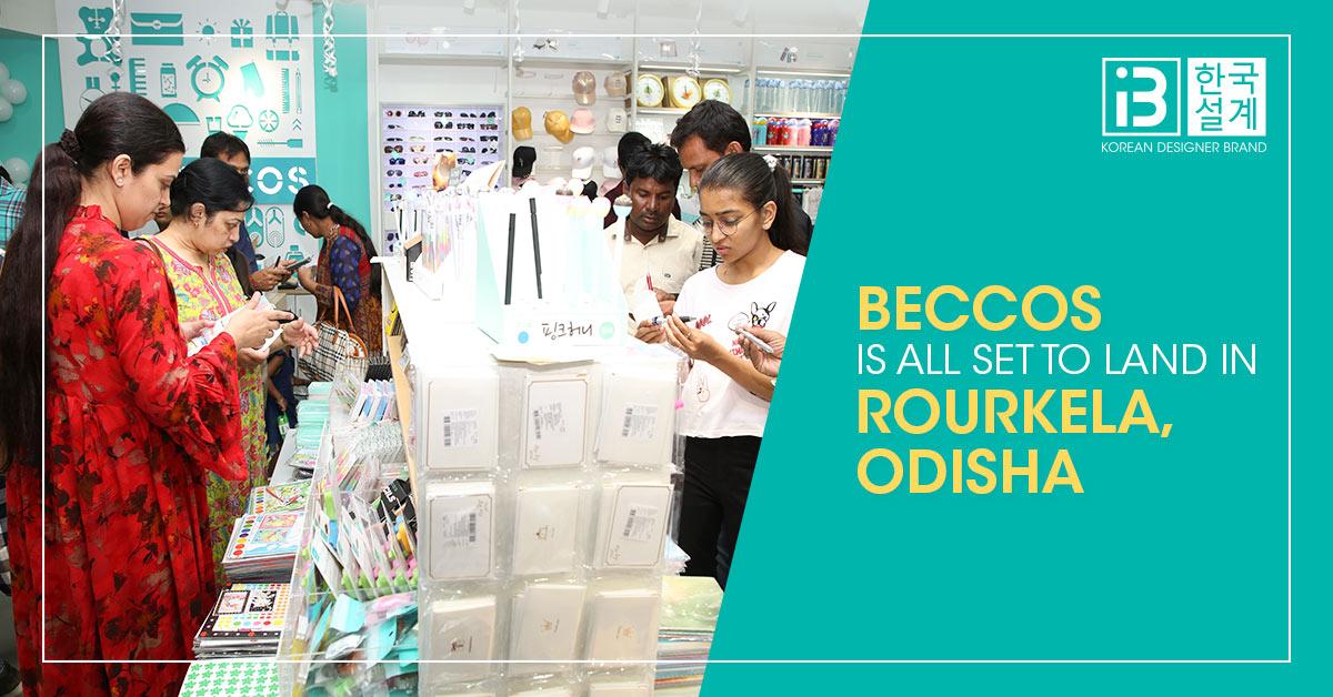 Beccos store launch-Rourkela, Odisha