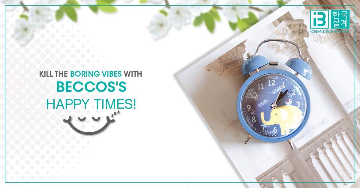 beccos alarm clock - tik tok
