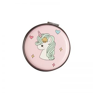 unicorn design mirror for ladies