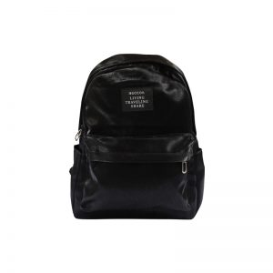 beccos premium bagpack in black color
