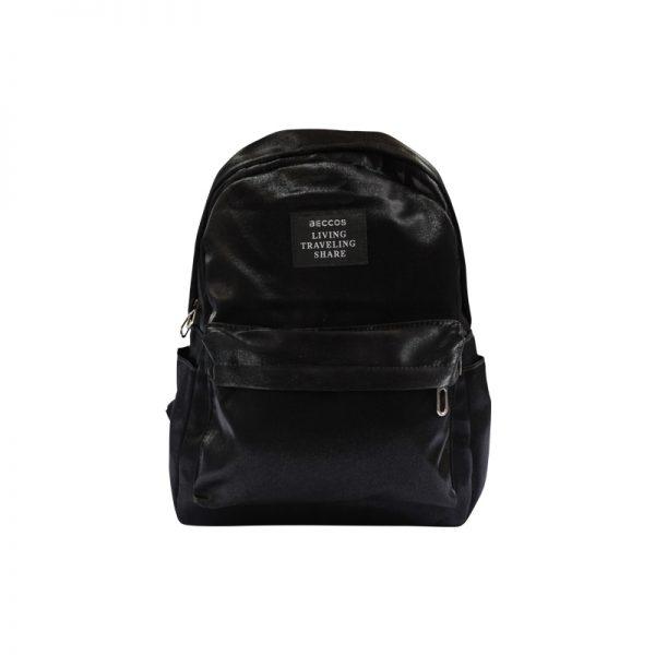 beccos premium bagpack in black color